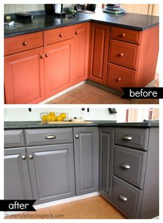 Paint: a kitchen makeover         While the dining room ceiling was torn apart  I figured I might as well add to the mess and tackle the ki...