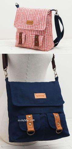 Paget Bag Pdf Pattern Ithinksew
