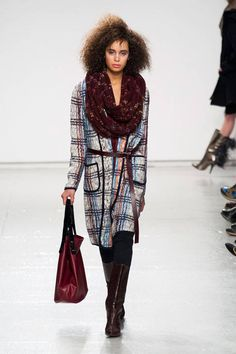 Tracy Reese Fall 2014 Ready-to-Wear Runway - Tracy Reese Ready-to-Wear Collection