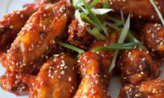 Slow Cooker Asian glazed chicken wings