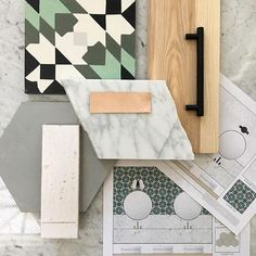 Cement Tile Shop - Encaustic Cement Tile Casablanca Green