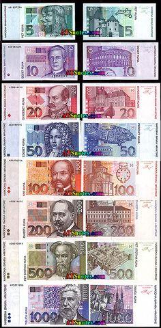 croatia Currency | Croatia banknotes - Croatia paper money catalog and Croatian currency ...