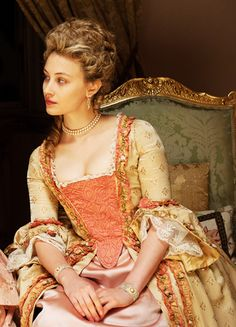 "18th Century England - Sarah Gadon in the film ""Belle"" (2013)."