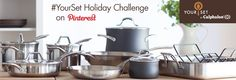 Have you ever wished you could customize a cookware set for the way you love to cook? With Your Set by Calphalon, now you can! And with our #YourSet Holiday Challenge on Pinterest, you can even win the set that you create!