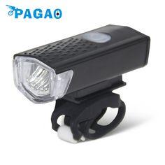 PAGAO LM Akumulator USB LED Lampa Przednia Rowerów MTB Kolarstwo Rowerów Rowerów Latarka Światła Reflektorów 0201