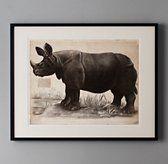 African Animal Art from Restoration Hardware.