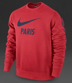 14-15 PSG Red Tracking Sweater Top Shirt | PSG Jersey Shirt sale | Gogoalshop