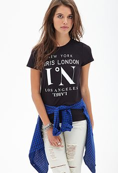 Big City Tee   FOREVER21 $13 - Not Available Anymore
