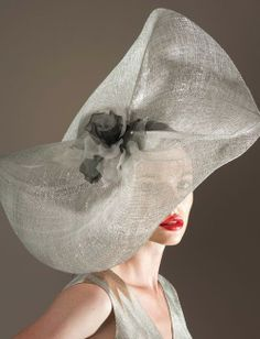 Wedding Hat or Veil - for Brides Over 40, 50, 60 - (article) - http://boomerinas.com/2013/12/28/wedding-hats-and-veils-for-brides-over-40-50-60/