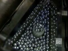 How It's Made Ball Bearings - YouTube