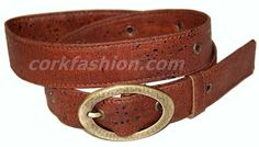 Cork Belt (model RC-GL0104001021 (3) - Eco-friendly - made of real cork. From www.corkfashion.com