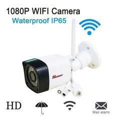 Android IOS Waterproof IP65  WIFI IP Camera P2P 1080p Wireless ONVIF 2.0.4 HD IR night vision  P2P with Micro Card Slot, surveil. Yesterday's price: US $43.90 (36.22 EUR). Today's price: US $36.44 (29.98 EUR). Discount: 17%.