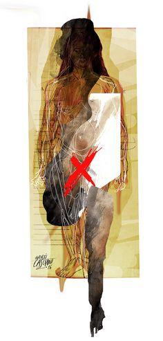 """""""Los hijos de los días"""" - Galeano ilustrado por Casciani 4/2 . acá podés leer el texto: http://andrescasciani.blogspot.com.ar/2016/02/los-hijos-de-los-dias-galeano-ilustrado_4.html"""