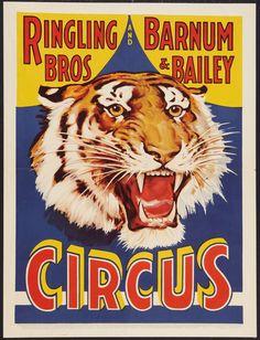 Ringling Bros. & Barnum & Bailey Circus Poster.