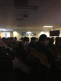 engajer recently had the opportunity to present in front of a captive crowd at Elance to a rousing reception!