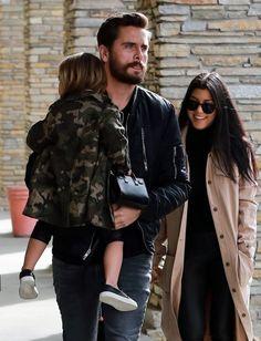 Kourtney Kardashian Photos - Kourtney Kardashian and Scott Disick take  their kids Mason and Penelope Disick to the movies in Westlake, CA on  January ... 51b728eda215