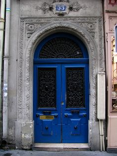 Door, Rue de Trevise, Paris | Flickr: Intercambio de fotos