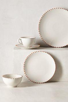 Pearl-Drop Dinner Plate - anthropologie.com