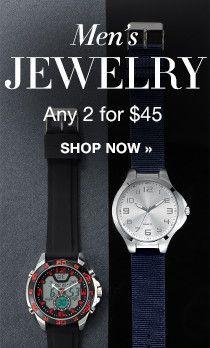 Men's Jewelry Promo