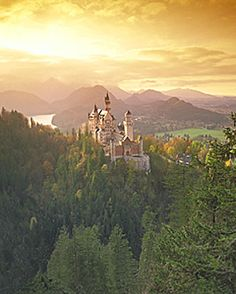 Neuschwanstein Castle  Mad King Ludwig's Castle  This is so beautiful in person