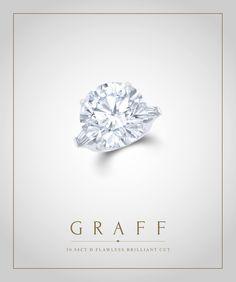 Graff Diamonds: 30.88 carat D Flawless Brilliant Cut Diamond Ring
