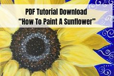 Acrylic Painting Lessons, Acrylic Painting Tutorials, Painting Videos, Diy Painting, Painting Flowers, Tole Painting, Watercolor Paintings, Unicorn Painting, Happy Paintings