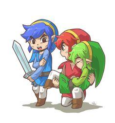 Zelda Triforce Héroes