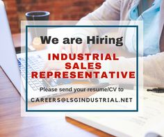 LSG is looking for qualified Industrial #Sales #Representative with at least 1 year experience on the role. Send your #resume to careers@lsgindustrial.net