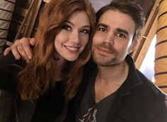"""262 Likes, 3 Comments - Shadowhunters Updates (@nephilimupdates) on Instagram: """"Kat and @paulwesley (Director)  #Shadowhunters #2x16 #BTS  Via @kitkatsmeow . . .…"""""""