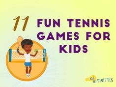 11 Fun Tennis Games