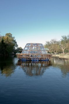 Floating architecture addressing social, climate change and/or leisure.