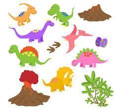 Resultado de imagen de dinosaur clipart