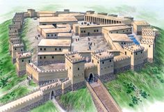 Büyükkale, citadel of Hattusha, late 13th century BC