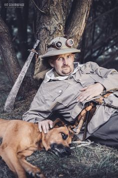 The prof, the dog and the machete.  The untold stories of steampunk