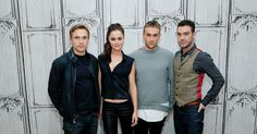 alexandrapdaily: Alexandra Park, William Moseley, Tom Austen and Jake Maskall attend AOL BUILD Presents: 'The Royals' at AOL Studios In New York on November 10, 2015 in New York City.