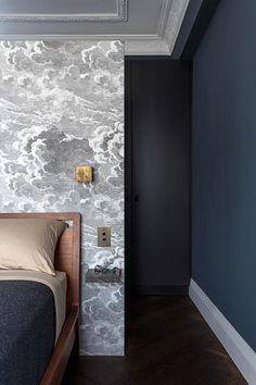 dark and wallpaper bedroom ( HID )