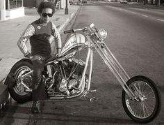 1960's modified Harley Chopper