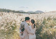 Our wedding photo. Pre Wedding Poses, Pre Wedding Photoshoot, Wedding Shoot, Romantic Getaways, Romantic Travel, Korean Photoshoot, Wedding Welcome Gifts, Wedding Photo Inspiration, Outdoor Travel