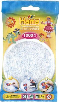 Hama Beads Clear (1000 Midi Beads)
