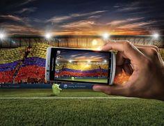 Ilustración 3D - Sony - Modelado, rendering e iluminación de estadio para aplicación en composición digital realizada por Estudio de Fotografía Matias Posti.