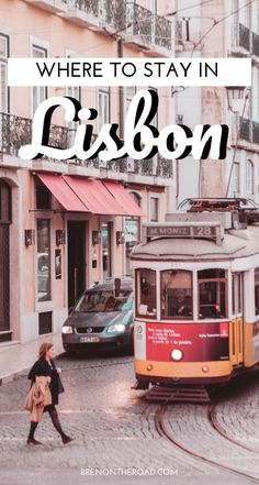 Visiting Lisbon, Portugal? Heres where to stay in Lisbon! Things to do in Lisbon, Lisbon neighborhood guide. #Lisbon #portugal