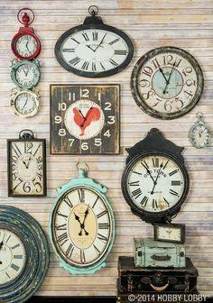 Love these clocks!
