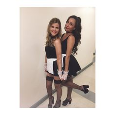 French maid costume Cowgirl Halloween Costume, Maid Halloween, Halloween 2017, Halloween Stuff, Halloween Outfits, Halloween Ideas, Halloween Costumes, Maid Costumes, Cute Costumes