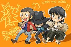 Lupin III, Jigen Daisuke, Ishikawa Goemon XIII