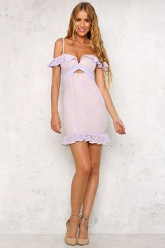 HelloMolly | Just A Moment Dress Lavender