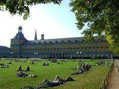 Bonn University. I used to study here, but now I just go to lie on the grass. :-)