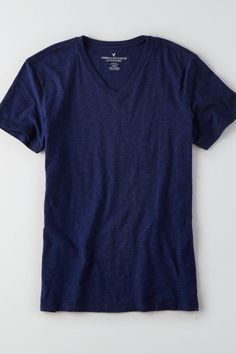 Perfectly worn. Crafted for laid-back living.  Shop the AEO Legend V-Neck T-Shirt  from American Eagle Outfitters. Check out the entire American Eagle Outfitters website to find the best items to pair with the AEO Legend V-Neck T-Shirt .