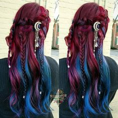 10 Amazing mermaid hair colour ideas – My hair and beauty Hair Dos, My Hair, Pelo Multicolor, Dream Hair, Cool Hair Color, Amazing Hair Color, Crazy Hair, Ombre Hair, Pretty Hairstyles