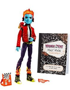 Monster High Holt Hyde with Pet chameleon Crossfade - https://www.amazon.com/dp/B0045VUXD4?m=A2T6OAKJ7ZRTXD&ref_=v_sp_detail_page