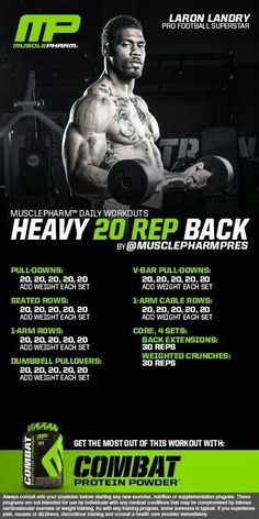 .Heavy 20 Rep Back Workout | Posted By: CustomWeightLossProgram.com
